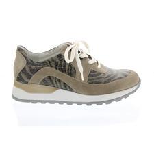 Waldläufer Hiroko, Sneaker, Velour/Vivid, cappucino/taupe 364004-781-207