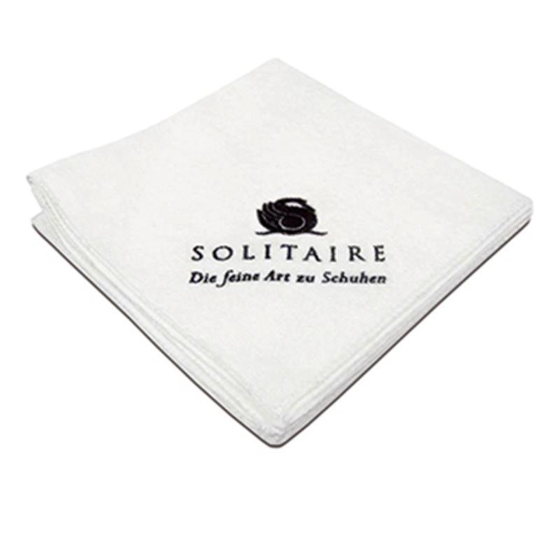 Solitaire Poliertuch in weiß Das Solitaire Poliertuch ist aus 100% Baumwolle. Poliertuch 905856