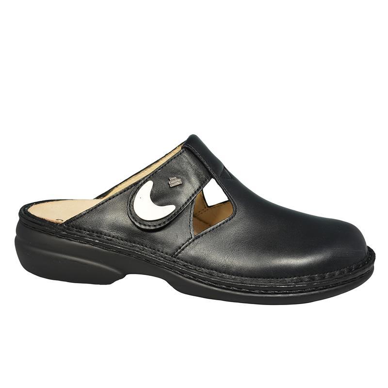 Finn Comfort Comfort Comfort belem, clog, nappaseda (cuero liso), negro 2555-014099 nappaseda  Envío y cambio gratis.