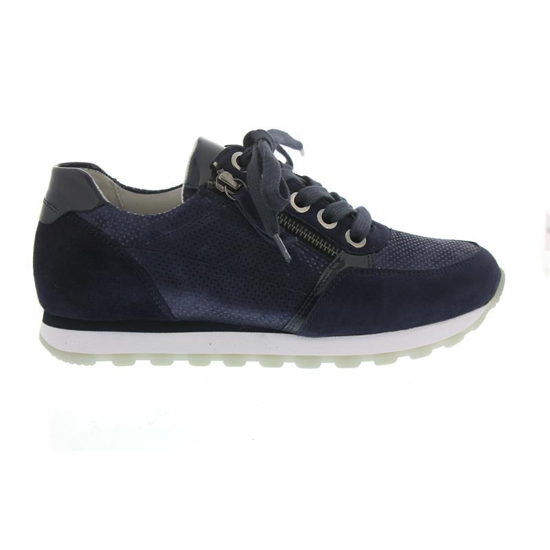 Gabor Sneaker, Bartholomeo/Vel/Lack, Bartholomeo/Vel/Lack, Sneaker, nightBlau/Blautte, Wechselfussbett, Weite G ad39bb
