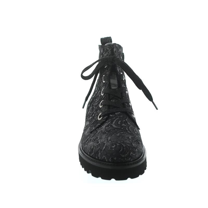 Gabor Bootie, Charro (veROTeltes Best-Fitting Glattleder) (Micro), schwarz, Best-Fitting (veROTeltes 91.8 c2b21e