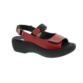 Wolky Jewel, Red, Martinica leather, Sandale 0320430-500