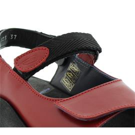 Wolky Jewel, Red, Martinica leather, Sandale 3204-350