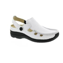 Wolky Roll-Multi, Clog, Printed leather, White 06220-70100
