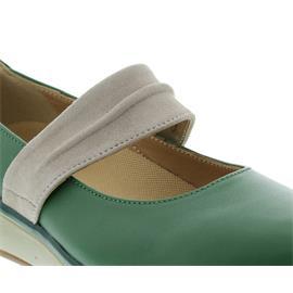 Joya Delia, Slipper, Full Grain Leather/ Velour mint, 562cas