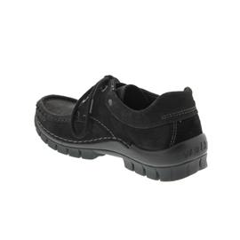 Wolky Fly Winter, Black, Halbschuh 4726-500