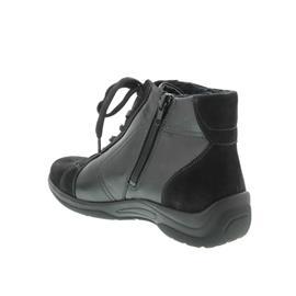 Waldläufer Hesna, Stiefel, Nubuk-Soft/Memphis schwarz, Weite H, 312801-219-001