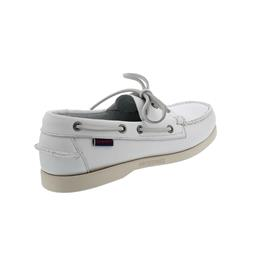 Sebago Docksides, Full-Grain Leather, white, Men 7000H00-911