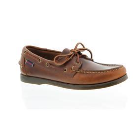 Sebago Docksides, Full-Grain Leather, Brown Oiled Waxy, Men 70000G0-925 vorher 727-43