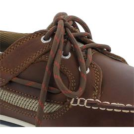 Sebago Triton Three-Eye, Full-Grain Leather, brown cinnamon 70004Z0-922 Man