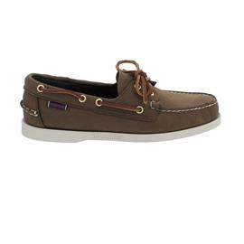 Sebago Docksides, Nubuk, dark brown, Men 7000GA0-901