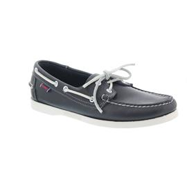 Sebago Docksides, Full-Grain Leather, blue navy, Men 7000H00-908 vorher 726-39