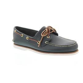 Timberland Classic 2 I Boat Shoe, Md Blue, Full Grain 74036