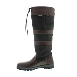 Dubarry Galway, Dry Fast - Dry Soft Leder, Extra Fit (extraweit), Gore-Tex, Black/Brown 3931-12