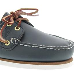 Timberland Damen-Classic 2 I Boat Shoe, MD Blue, Full Grain 72332