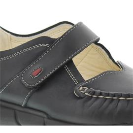 Wolky Yukon, Black AYR, Etna leather, Halbschuh (Klett) 1500-300