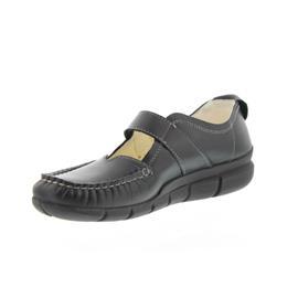 Wolky Yukon, Black AYR, Etna leather, Halbschuh (Klett) 1500-300