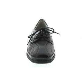 Waldläufer Moni, Glatt- Krokolackleder, schwarz, Weite M 860010-214-001