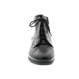 Waldläufer Kaia, Stiefel, Kroko Memphis schwarz, Weite K, 618002-214-001