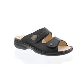 Finn Comfort Sansibar, Pantolette, Nappaseda (Glattleder), schwarz, 2550-014099