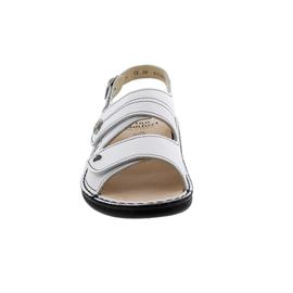 Finn Comfort Milos, Sandale, Nappa (Glattleder), weiss 2560-001000