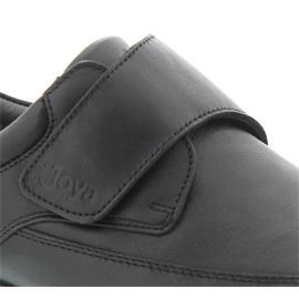 Joya Business 12 Black, Klettvers., Soft-Roll-Sohle 007biz