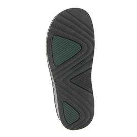 Rohde Herren Clog Softfilz, Wechselfußbett, Weite G1/2, schwarz 6681-90