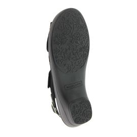 Waldläufer Hona, Sandale, Nubuk-Soft Spot schwarz, Weite H, 445001-862-001