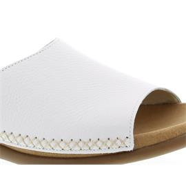 Gabor Pantolette, Cervo, weiss, Best Fitting 03.705.21