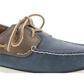 Timberland Earthkeepers Heritage 2-Eye Boat Dk.Brown + Navy 6365A