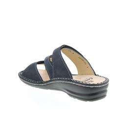 Finn Comfort Lazise, Pantolette, Buggy (Nubukled.), darkblue 3430-046048