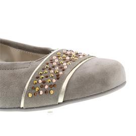 Semler Denise, Ballerina, panna-gold, Vario-Fussbett 5258-471-762
