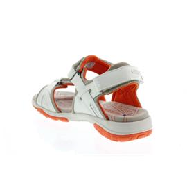 Allrounder AE004, Sandale Elba, White/Cool Grey