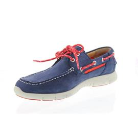 Sebago Kinsley Two Eye, Navy Nubuck 130-211