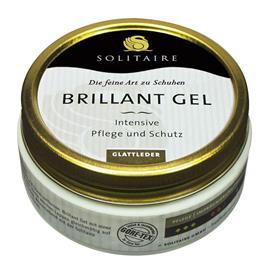 Solitaire Brillant Gel, Intensive Pflege und Schutz für Glattleder, schwarz