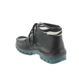 Wolky Fly Winter, Black verde, Velvet leather 4728-203