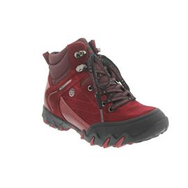 Allrounder Nigata-Tex, Schnürboot, Allro-Tex, Black / Mid Red , Rubber 1/O.Suede 48 AN019