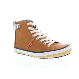 Wolky Biker, Cognac, Velvet leather, Bootie 1225-243