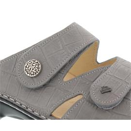 Finn Comfort Torbole, Pantolette, Oldbrass, grau (Stone) 2571-477150