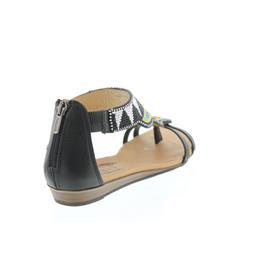Pikolinos Alcudia, Authentic Maasai Design, Sandale, Black 816-MA9081