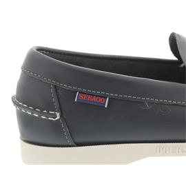 Sebago Docksides, Dolphin, Navy Leather B720471