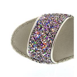 Vidorreta Espadrilles, Sandalia Tira,T.Glitter Multi/Multic. 37900