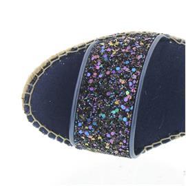 Vidorreta Espadrilles, Sandalia Tira,T.Glitter Multi/Marino 37900
