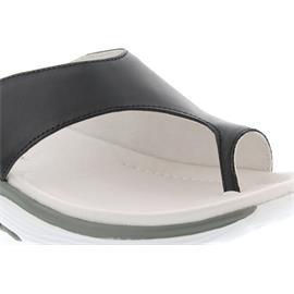 Gabor - Comfort Rollingsoft, Foulardcalf, schwarz, Pantolette 46.911.87