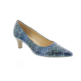 Gabor Pumps, Wave Lack, blau kombi 41.250.96