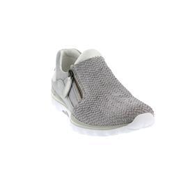 Gabor - Comfort Rollingsoft, Snakino/Nubuk kombi., grau/argento 46.962.38