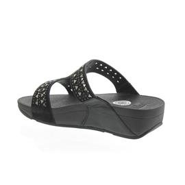 FitFlop Pantolette Carmel Slide, All Black