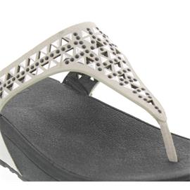 FitFlop Zehensteg-Pantolette Carmel Toe-Post, Urban White