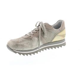 Gabor Sneaker, Caruso/Canvas/Vacchetta, visone/alpaca/pl 43.301.62