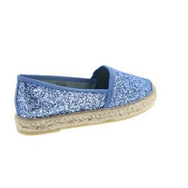 Vidorreta Espadrilles, Camping Ribete, Glitter Gr. / Azul 00700